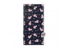 Coque Sony Xperia X Compact Petits Moutons
