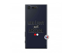 Coque Sony Xperia X Compact Rien A Foot Allez Arsenal