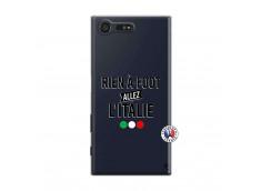 Coque Sony Xperia X Compact Rien A Foot Allez L'Italie