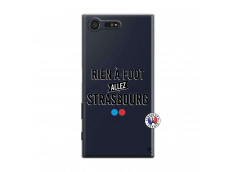Coque Sony Xperia X Compact Rien A Foot Allez Strasbourg