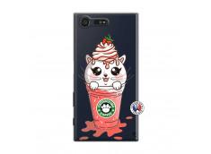 Coque Sony Xperia X Compact Catpucino Ice Cream