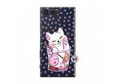 Coque Sony Xperia X Compact Smoothie Cat