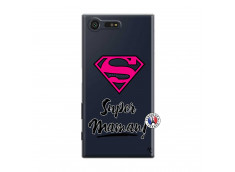 Coque Sony Xperia X Compact Super Maman