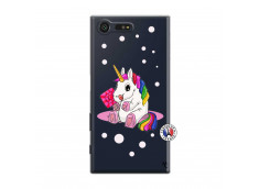 Coque Sony Xperia X Compact Sweet Baby Licorne