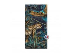 Coque Sony Xperia X Compact Leopard Jungle