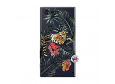 Coque Sony Xperia X Compact Leopard Tree