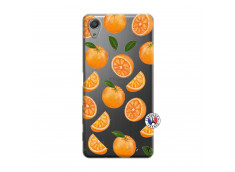 Coque Sony Xperia X Performance Orange Gina