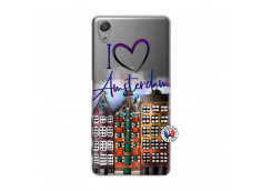 Coque Sony Xperia X Performance I Love Amsterdam