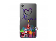 Coque Sony Xperia X Performance I Love Moscow