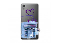 Coque Sony Xperia X Performance I Love Paris Arc Triomphe