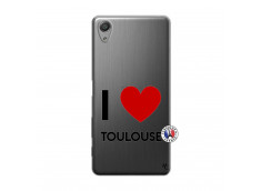 Coque Sony Xperia X Performance I Love Toulouse