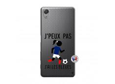 Coque Sony Xperia X Performance Je Peux Pas J Ai Les Bleues Maillot