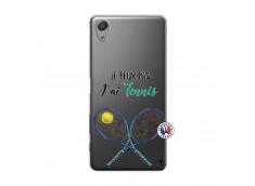 Coque Sony Xperia X Performance Je Peux Pas J Ai Tennis