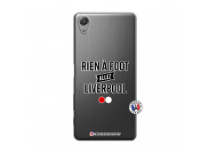 Coque Sony Xperia X Performance Rien A Foot Allez Liverpool