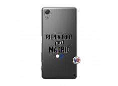 Coque Sony Xperia X Performance Rien A Foot Allez Madrid