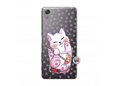 Coque Sony Xperia X Performance Smoothie Cat