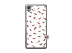 Coque Sony Xperia X Cartoon Heart Translu