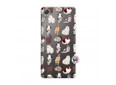 Coque Sony Xperia X Cat Pattern