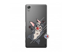 Coque Sony Xperia X Dog Impact