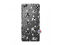 Coque Sony Xperia X Cow Pattern