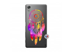 Coque Sony Xperia X Dreamcatcher Rainbow Feathers