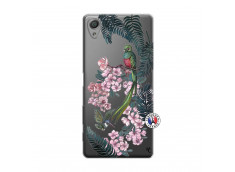 Coque Sony Xperia X Flower Birds