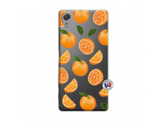Coque Sony Xperia X Orange Gina