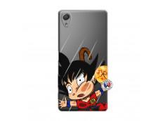 Coque Sony Xperia X Goku Impact