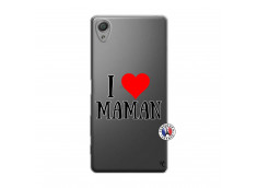 Coque Sony Xperia X I Love Maman
