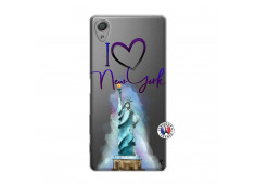 Coque Sony Xperia X I Love New York