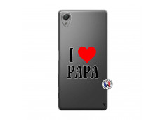 Coque Sony Xperia X I Love Papa