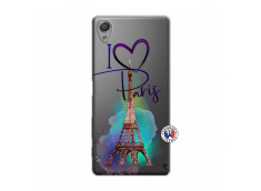Coque Sony Xperia X I Love Paris