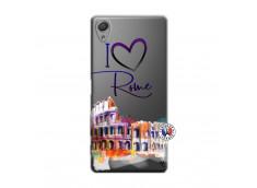 Coque Sony Xperia X I Love Rome