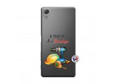 Coque Sony Xperia X Je Peux Pas J Ai Bricolage