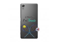 Coque Sony Xperia X Je Peux Pas J Ai Tennis