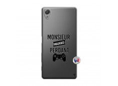 Coque Sony Xperia X Monsieur Mauvais Perdant