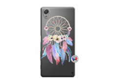 Coque Sony Xperia X Multicolor Watercolor Floral Dreamcatcher