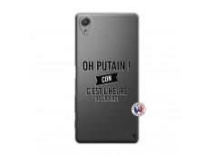 Coque Sony Xperia X Oh Putain C Est L Heure De L Apero