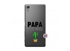 Coque Sony Xperia X Papa Tu Piques
