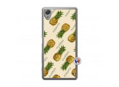 Coque Sony Xperia X Sorbet Ananas Translu