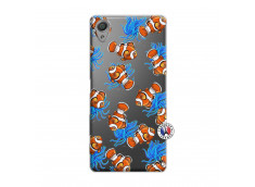Coque Sony Xperia X Poisson Clown