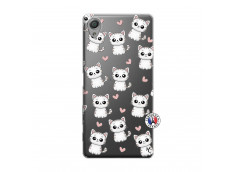 Coque Sony Xperia X Petits Chats