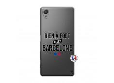 Coque Sony Xperia X Rien A Foot Allez Barcelone
