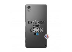 Coque Sony Xperia X Rien A Foot Allez Bruges