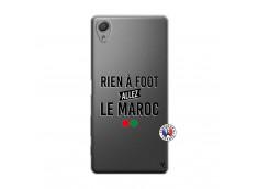 Coque Sony Xperia X Rien A Foot Allez Le Maroc