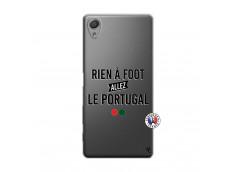 Coque Sony Xperia X Rien A Foot Allez Le Portugal
