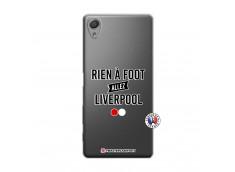 Coque Sony Xperia X Rien A Foot Allez Liverpool
