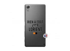 Coque Sony Xperia X Rien A Foot Allez Lorient