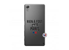 Coque Sony Xperia X Rien A Foot Allez Paris