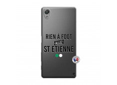 Coque Sony Xperia X Rien A Foot Allez St Etienne